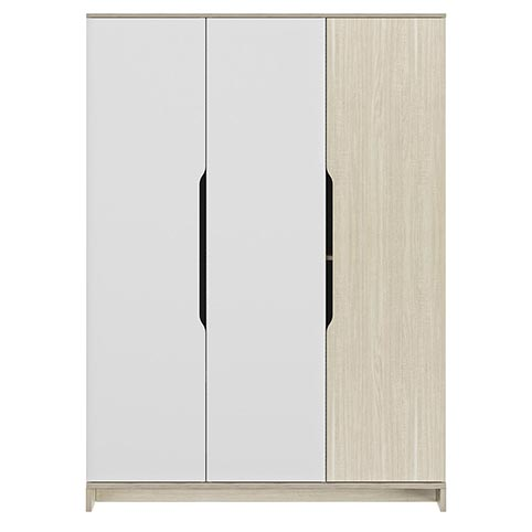 garde robe armoire chambre a coucher adulte GRAY 01