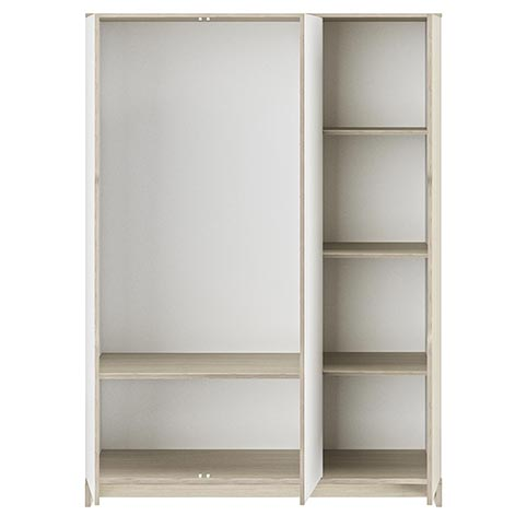 garde robe armoire chambre a coucher adulte GRAY 03