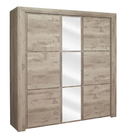 garde robe armoire chambre a coucher adulte H32 03