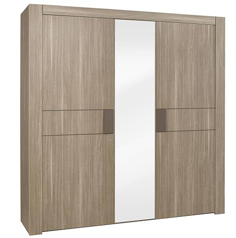 garde robe armoire chambre a coucher adulte H66 01