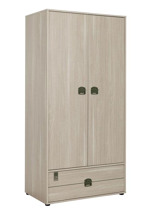 garde robe armoire chambre a coucher adulte INDIANA 02