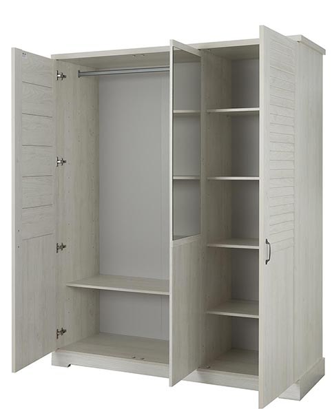 garde robe armoire chambre a coucher adulte THELMA 06