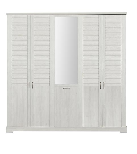 garde robe armoire chambre a coucher adulte THELMA 07
