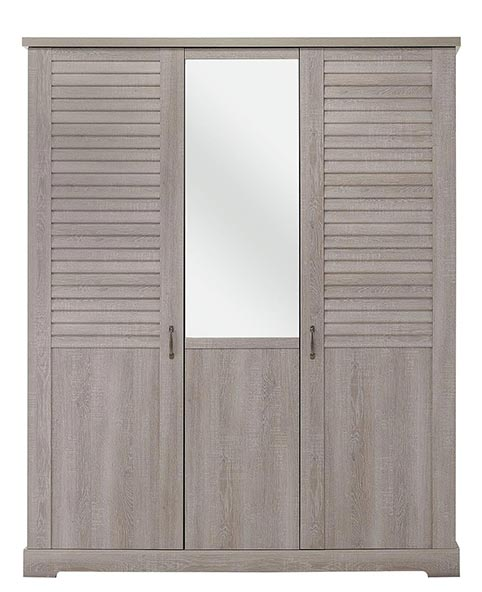 garde robe armoire chambre a coucher adulte THELMA 09