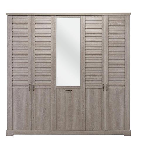 garde robe armoire chambre a coucher adulte THELMA 11