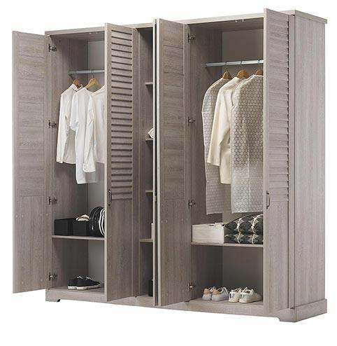 garde robe armoire chambre a coucher adulte THELMA 12