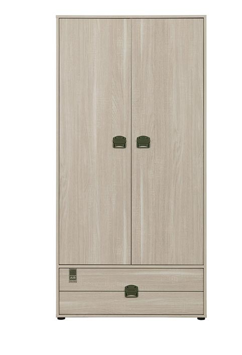 garde robe armoire chambre a coucher jeune enfant INDIANA 01
