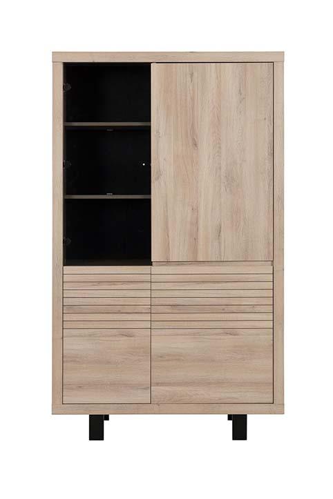 vitrine colonne dressoir de salon CLAY 01
