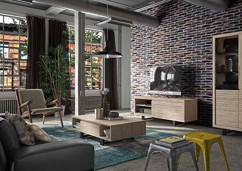 meuble salon complet chateau prayon CLAY 03