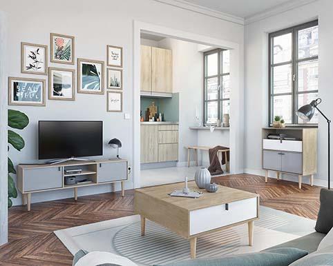 meuble salon complet chateau prayon NELSON 02