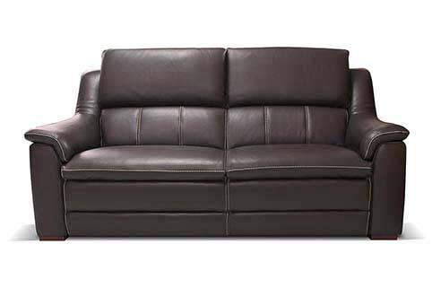 canape en cuir relax