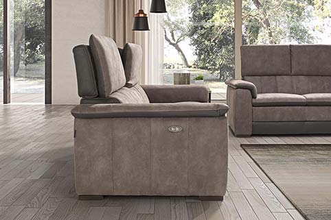 Canape Droit Design Fibre Relax 2
