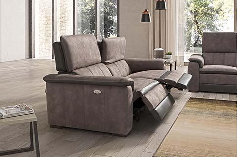 Canape Droit Design Fibre Relax