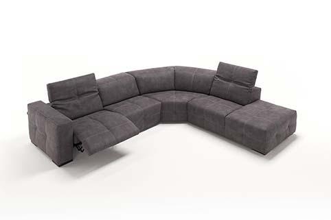 Salon Angle Design Fibre Relax Noir 2