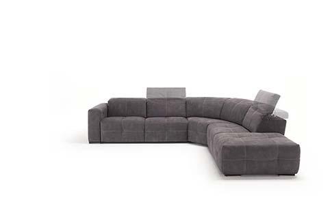 Salon Angle Design Fibre Relax Noir 4
