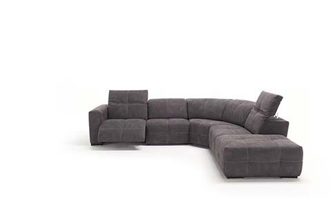 Salon Angle Design Fibre Relax Noir